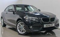2016 BMW 2 SERIES 1.5 218I SE 2d 134 BHP £13490.00