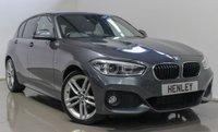 2015 BMW 1 SERIES 2.0 118D M SPORT 5d 147 BHP £14490.00