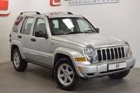 USED 2006 56 JEEP CHEROKEE 2.8 LIMITED CRD 5d 161 BHP LOW MILES + 2 KEYS + PART EX TO CLEAR + GOOD VALUE