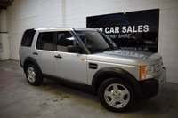 2006 LAND ROVER DISCOVERY 2.7 3 TDV6 S 5d 188 BHP £6291.00