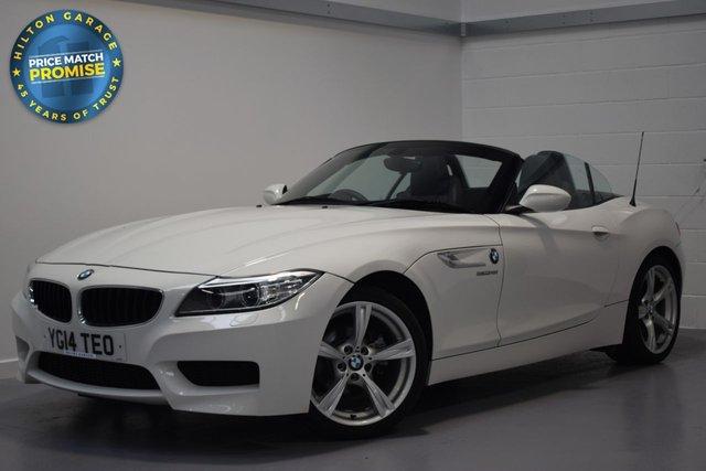 USED 2014 14 BMW Z4 2.0 Z4 SDRIVE18I M SPORT ROADSTER 2d 155 BHP