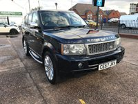USED 2007 57 LAND ROVER RANGE ROVER SPORT 2.7 TDV6 SPORT HSE 5d AUTO 188 BHP FULL SERVICE HISTORY(9 STAMPS)-CAMBELT CHANGED-NAV-LEATHER-AUTO