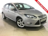 USED 2012 62 FORD FOCUS 1.6 ZETEC 5d AUTO 124 BHP Bluetooth/Air Con