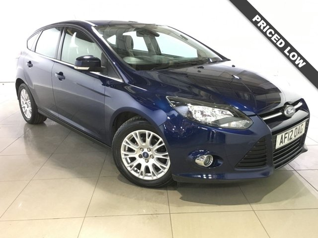 View our 2012 12 FORD FOCUS 1.6 TITANIUM TDCI 115 5d 114 BHP