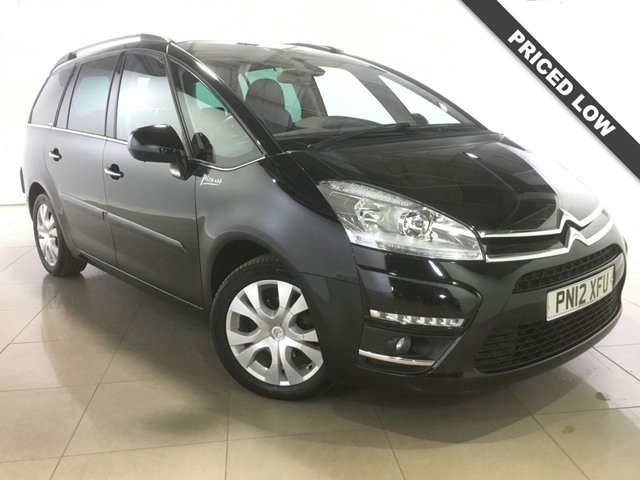 View our 2012 12 CITROEN C4 GRAND PICASSO 1.6 EXCLUSIVE E-HDI EGS 5d AUTO 110 BHP