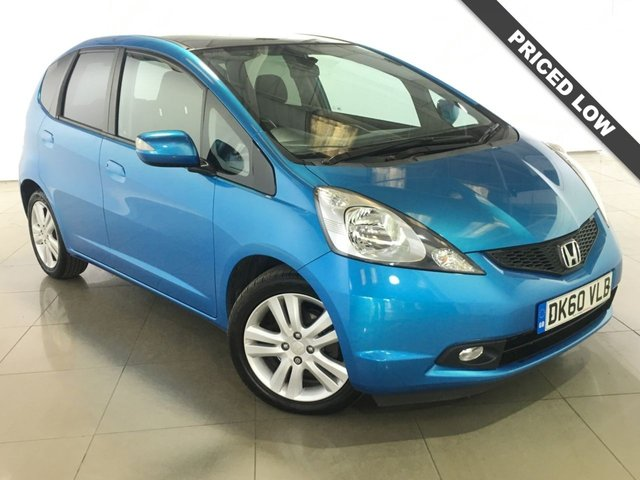 View our 2010 60 HONDA JAZZ 1.3 I-VTEC EX I-SHIFT 5d AUTO 98 BHP