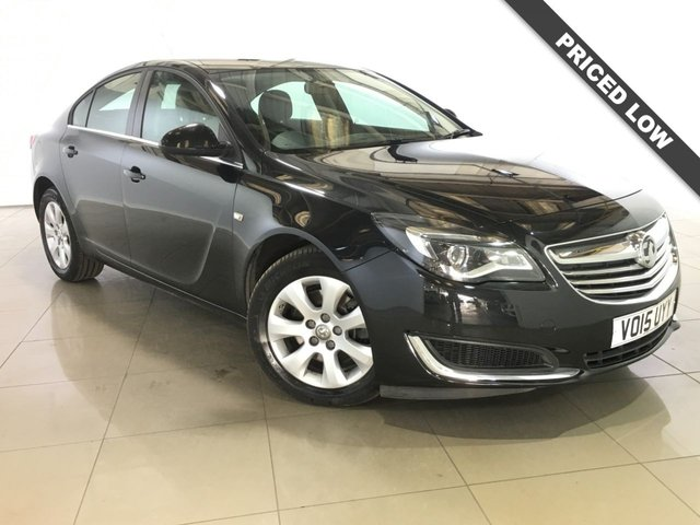 View our 2015 15 VAUXHALL INSIGNIA 2.0 DESIGN CDTI 5d AUTO 160 BHP