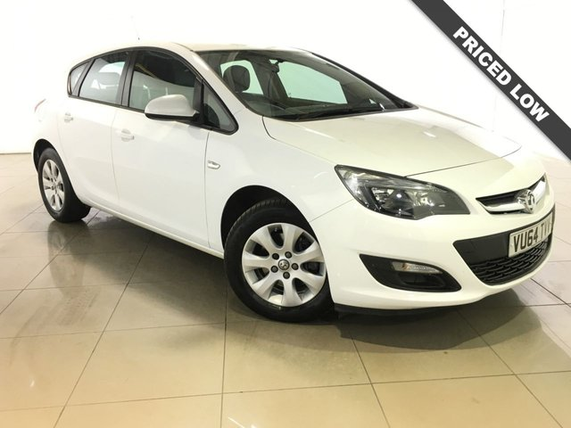 View our 2014 64 VAUXHALL ASTRA 1.6 DESIGN CDTI ECOFLEX S/S 5d 108 BHP
