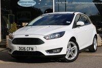 2016 FORD FOCUS 1.0 TITANIUM 5d 124 BHP £11106.00