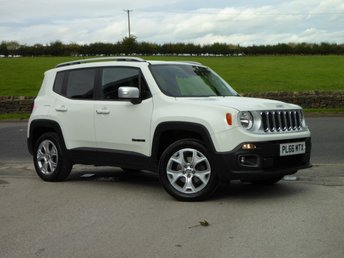 2016 JEEP RENEGADE 1.4 LIMITED 5d AUTO 168 BHP £17995.00