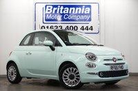 2015 FIAT 500 1.2 LOUNGE 3 DOOR 70 BHP NEW MODEL £7240.00