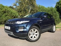 USED 2013 13 LAND ROVER RANGE ROVER EVOQUE 2.2 SD4 PURE TECH 5d 190 BHP TOP SPEC SAT NAV PAN ROOF HEATED SEATS FSH