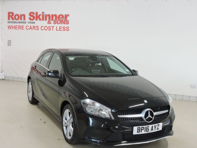 View our 2016 16 MERCEDES-BENZ A-CLASS 2.1 A 200 D SPORT 5d 134 BHP