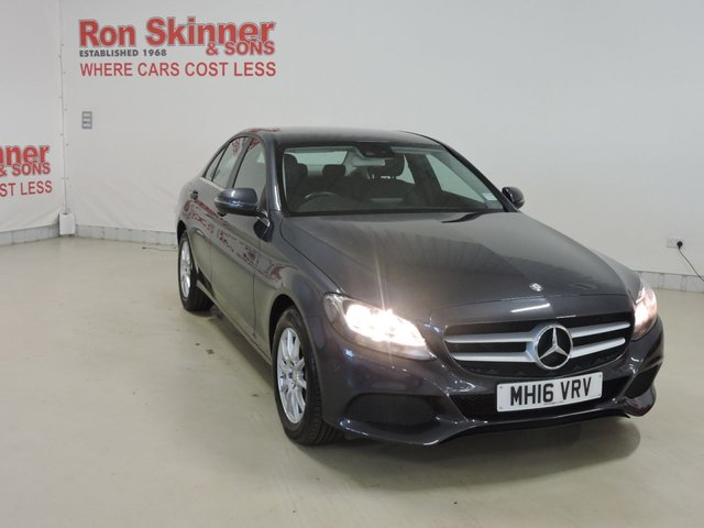 View our 2016 16 MERCEDES-BENZ C-CLASS 2.1 C220 D SE EXECUTIVE 4d 170 BHP