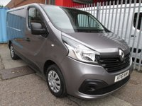 USED 2016 16 RENAULT TRAFIC 1.6 SL27 BUSINESS PLUS ENERGY DCI 120 *AIR CON* 3 SEAT CAB - DAB RADIO - AIR CON