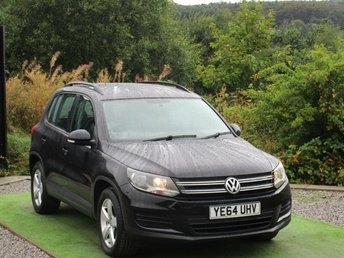 2014 VOLKSWAGEN TIGUAN 2.0 S TDI BLUEMOTION TECHNOLOGY 5d 109 BHP £11990.00
