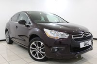 USED 2014 14 CITROEN DS4 1.6 E-HDI AIRDREAM DSTYLE 5DR 115 BHP Full Service History FULL SERVICE HISTORY + HALF LEATHER SEATS + MASSAGE SEATS + BLUETOOTH + PARKING SENSOR + CRUISE CONTROL + MULTI FUNCTION WHEEL + CLIMATE CONTROL + 18 INCH ALLOY WHEELS