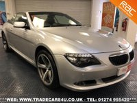 2009 BMW 6 SERIES 630i SPORT CONVERTIBLE AUTO FACELIFT MODEL £10995.00