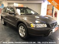 USED 2005 05 VOLVO XC70 2.4 D5 DIESEL AWD GEARTRONIC AUTO SE UK DELIVERY* RAC APPROVED* FINANCE ARRANGED* PART EX
