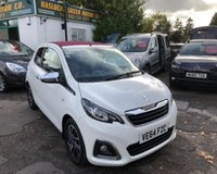USED 2014 64 PEUGEOT 108 1.2 ALLURE TOP 3d 82 BHP