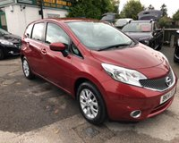 2014 NISSAN NOTE 1.2 ACENTA 5d 80 BHP £6999.00
