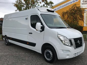 2016 NISSAN NV400 2.3 DCI SE L3 REFRIGERATED / CHILLER+ STANDBY VAN £11950.00