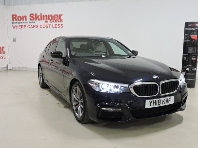 View our 2018 18 BMW 5 SERIES 2.0 520D XDRIVE M SPORT 4d AUTO 188 BHP