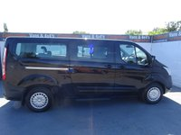 USED 2015 15 FORD TOURNEO CUSTOM 2.2 300 ZETEC TDCI 5d 124 BHP transit tourneo 9 seater trend air con only 17000
