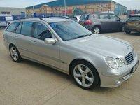 2005 MERCEDES-BENZ C CLASS 2.1 C220 CDI AVANTGARDE SE 5d AUTO 148 BHP £2950.00