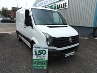 USED 2015 65 VOLKSWAGEN CRAFTER 2.0 CR30 TDI 135 BHP RARE SWB LOW ROOF 1 OWNER  AIR CON CRUISE CONTROL
