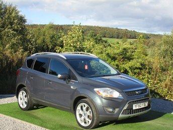 2010 FORD KUGA 2.0 TITANIUM TDCI AWD 5d AUTO 163 BHP £6690.00
