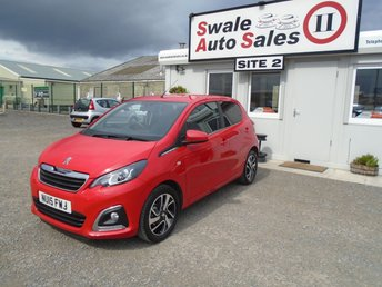 Used Peugeot Cars In Richmond From Swale Auto Sales