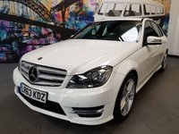 2013 MERCEDES-BENZ C CLASS 2.1 C220 CDI BLUEEFFICIENCY AMG SPORT 4d AUTO 168 BHP £13294.00