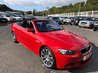 USED 2010 BMW M3 4.0 M3 2d 415 BHP Melbourne Red Metallic, Black Novillo leather, thousands in options