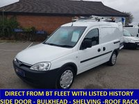 2010 VAUXHALL COMBO 2000 1.3 CDTi Direct From BT With History £3295.00