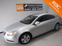 USED 2010 59 VAUXHALL INSIGNIA 1.8 EXCLUSIV 5d 138 BHP A great family car finished in gleaming metallic silver 12 months mot elec windows, elec mirrors, leather clad multi function steering wheel, cruse control, air conditioning, dab radio cd, just serviced ready to go     for more Information Please Call Now on 0151525 4400,  07967141248