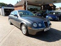 2006 JAGUAR S-TYPE 2.7 V6 SE 4d AUTO 206 BHP £2990.00