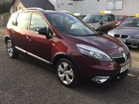 USED 2013 04 RENAULT SCENIC 1.5 XMOD DYNAMIQUETT BOSEPLUS ENERGY DCI S/S 5d 110 BHP OUR  PRICE INCLUDES A 6 MONTH AA WARRANTY DEALER CARE EXTENDED GUARANTEE, 1 YEARS MOT AND A OIL & FILTERS SERVICE. 6 MONTHS FREE BREAKDOWN COVER.  CALL US NOW FOR MORE INFORMATION OR TO BOOK A TEST DRIVE ON 01315387070 !!