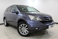 USED 2010 10 HONDA CR-V 2.0 I-VTEC ES 5DR 148 BHP FULL SERVICE HISTORY + HEATED HALF LEATHER + CRUISE CONTROL + MULTI FUNCTION WHEEL + CLIMATE CONTROL + RADIO/CD/USB + 18 INCH ALLOY WHEELS