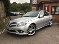 2010 MERCEDES-BENZ C CLASS 1.6 C180 KOMPRESSOR BLUEEFFICIENCY SE 4d AUTO 156 BHP £6995.00