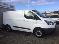 2015 FORD TRANSIT CUSTOM 290 LIMITED LR P/V