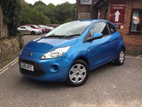 USED 2015 15 FORD KA 1.2 EDGE 3d 69 BHP
