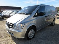 2013 MERCEDES-BENZ VITO 2.1 116 CDI BLUEEFFICIENCY LWB AUTO 163 BHP 39623 MILES £13995.00