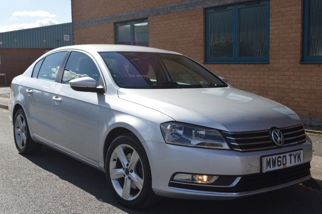 2011 60 VOLKSWAGEN PASSAT 1.6 SE TDI BLUEMOTION TECHNOLOGY 4d 104 BHP