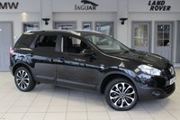 USED 2012 61 NISSAN QASHQAI+2 2.0 N-TEC PLUS 2 DCI 5d 148 BHP SERVICE HISTORY + SATELLITE NAVIGATION + REVERSE CAMERA + 7 SEATER + 17 INCH ALLOYS + CRUISE CONTROL + BLUETOOTH