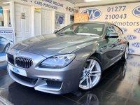 2014 BMW 6 SERIES 3.0 640D M SPORT GRAN COUPE 4d 309 BHP £23000.00