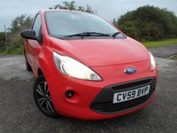 2009 FORD KA 1.2 STUDIO 3d 69 BHP  ** 1 PREVIOUS OWNER ,ONLY 47K ** £3195.00