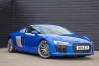 2016 AUDI R8 5.2 V10 QUATTRO 2d AUTO 533 BHP £82000.00
