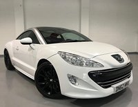 USED 2012 62 PEUGEOT RCZ 2.0 HDI GT 2d 163 BHP Full Main Dealer History + Full Leather Upholstery + No Deposit Low Rate Finance Available