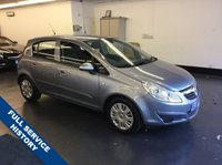 USED 2007 56 VAUXHALL CORSA 1.4 CLUB A/C 16V 5d 90 BHP 1 PREVIOUS OWNER, FULL SERVICE HISTORY, RAC WARRANTY